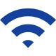 Wi-fiや光回線等の配信環境が整っている